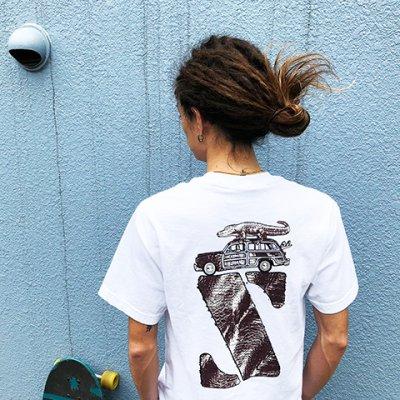 画像3: 【STANDARD CALIFORNIA/スタンダードカリフォルニア】×【JIMMY'Z/ジミーズ】JIMMY'Z × SD Z Logo T■ホワイト■(メンズ)S/M/Lサイズ