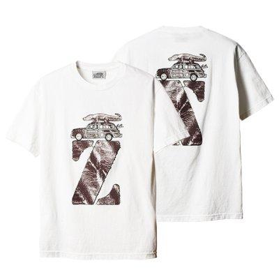 画像1: 【STANDARD CALIFORNIA/スタンダードカリフォルニア】×【JIMMY'Z/ジミーズ】JIMMY'Z × SD Z Logo T■ホワイト■(メンズ)S/M/Lサイズ