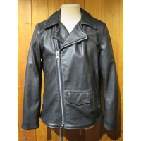 トニータイズサン(TONY TAIZSUN)×バンソン(VANSON)VANSON X TONY TAIZSUN DOUBLE RIDERS LEATHER JACKET■ブラック■(メンズ)38サイズ