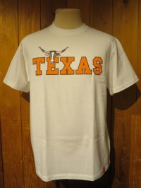 トニータイズサン(Tony Taizsun) 半袖プリントTシャツ TEXAS ホワイト (メンズ)M/Lサイズ