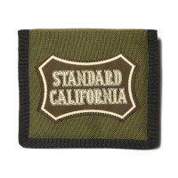 (STANDARD CALIFORNIA/スタンダードカリフォルニア) PORTER × SD Card Wallet OLIVE/BLACK