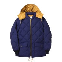 (STANDARD CALIFORNIA/スタンダードカリフォルニア) SD Classic Quilted Down Jacket Navy (メンズ) M/Lサイズ