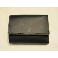 ■ロングディスタンス(LONGDISTANCE)■Buttero Leather Mini Wallet■ブラック■日本製