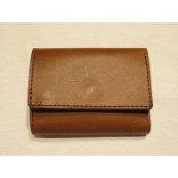 ■ロングディスタンス(LONGDISTANCE)■Buttero Leather Mini Wallet■ブラウン■日本製