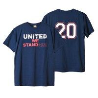 (STANDARD CALIFORNIA/スタンダードカリフォルニア) SD United We Standard T-Shirt ネイビー(メンズ)M/Lサイズ