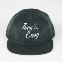 TURN ME ON(ターンミーオン) TURN&EASY 刺繍CAP (GREEN)