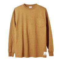 (STANDARD CALIFORNIA/スタンダードカリフォルニア) SD Heavyweight Pocket Long Sleeve T■ベージュ■(メンズ)M/L/XLサイズ