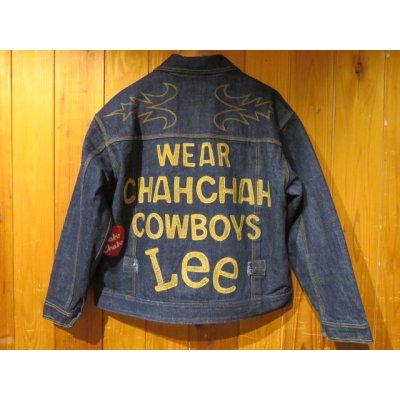 画像1: Chah Chah(チャーチャー) CHAHCHAH×LEE WESTERN COWBOY JKT WWII-2nd(メンズ)M/Lサイズ